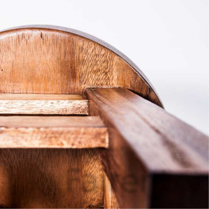 Kinderhocker, Schemel, Kinderstuhl massiv aus Holz mit Tiermotiv Frosch, 25 cm Sitzhöhe für unsere Kindersitzgruppe
